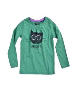 groen-shirt-kat