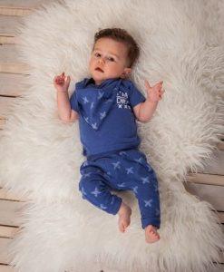 babykleertjes dirkje jongen kruisje blauw