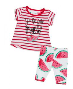 babykleertjes babykleding meloen zomer
