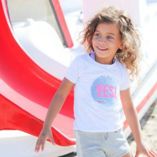 78e86450255 T-shirt YES! | Blue Seven kinderkleding - Babyvilla.nl